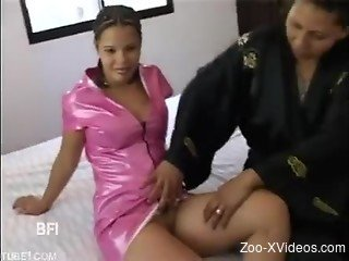Tight amateur babes amazing animal sex video