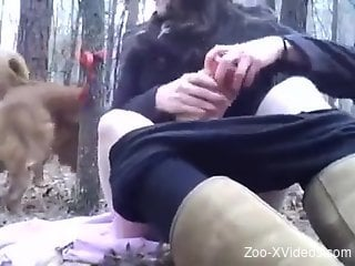 Sneaky zoo fuck video with lots of cunnilingus
